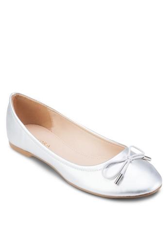Metal Tip Bow Tie Ballerinas、 女鞋、 芭蕾平底鞋ZALORAMetalTipBowTieBallerinas最新折價