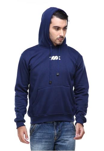 Hamlin navy Hamlin Clover Jaket Hoodie Sweater Pria Chess Centre Casual Jacket Material Fleece ORIGINAL 01EBAAA9C1BB07GS_1