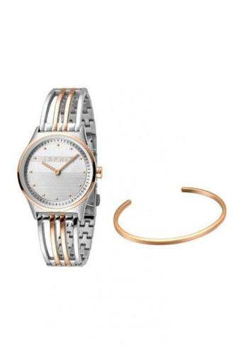 ESPRIT gold Esprit Women Unity T/T Rosegold Silver Box Set ES1L031M0075 8D1CAAC3178E26GS_1