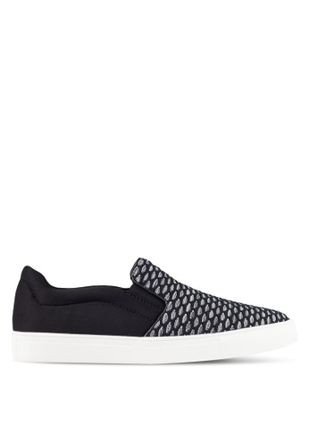 Kenneth Cole New York black and grey DESIGN 20282 - Slip-On Sneakers KE615SH0RMM2MY_1