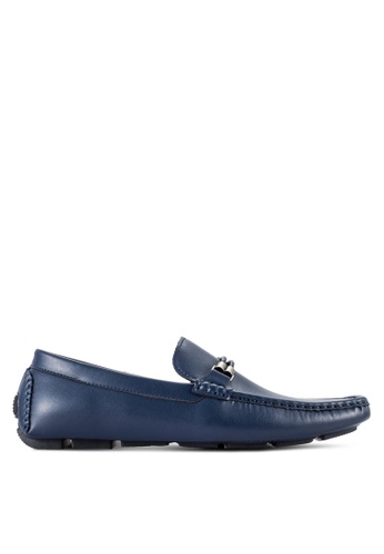 UniqTee blue Loafers With Braided Detail UN097SH83RQMMY_1
