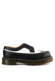 watch 2e9da e6377 Dr. Martens white Brogue Shoes 45DF4SH7FF558EGS 1