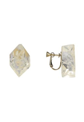 niko and ... grey Hexagon Earrings 7798DAC08A5302GS_1