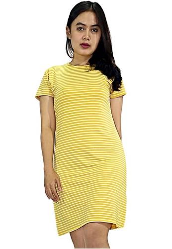 Factor yellow FACTOR - AYLA DRESS-YELLOW 314ACAAF4076EFGS_1