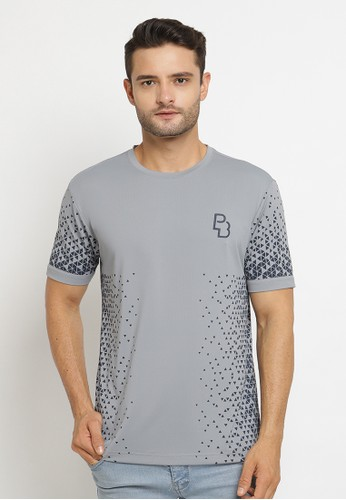 Poshboy grey Poshboy Tshirt Dublin OX-6LT-XIA D0E55AAE1CD5CFGS_1