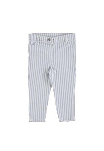 LC Waikiki blue Baby Girl's Striped Trousers 85BBBKAE24E68BGS_1