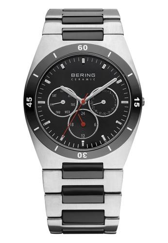 Bering silver Ceramic 32341-742 Black 41 mm Men's Watch 6CE14AC0B897D2GS_1