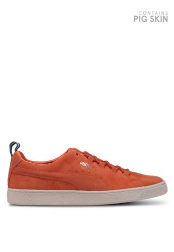 Puma Select orange Puma X Big Sean Shoes 479FBSH9CEE8DFGS_1