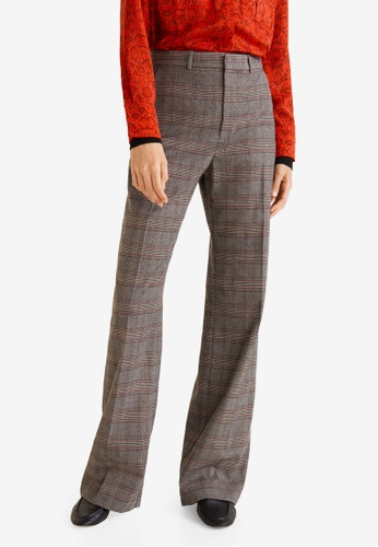 235094ef291 Buy Mango Check Suit Trousers