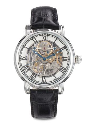 Longcase 43mm 機芯鏤空羅馬數字手esprit hong kong 分店錶, 錶類, 飾品配件