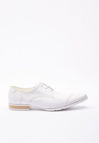 Kings Collection white Dalton Leather Shoes F01F5SH21861A7GS_1
