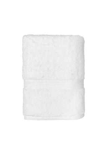 Charles Millen white SET OF 2 Charles Millen Suite Cecile Bath Towel 100% PIMA Cotton Bath Towel 70 x 130cm 562g. 7FE21HL584E45CGS_1