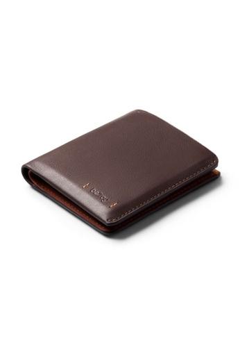 Bellroy brown Bellroy Note Sleeve Wallet (Premium Edition) - Aragon FCA4EAC06A88EDGS_1
