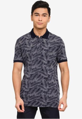 LC Waikiki navy Printed Polo Shirt 7E2CBAA7A60947GS_1