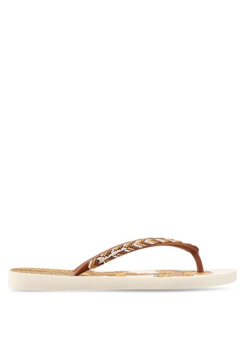 Ipanema multi and brown and beige Ipanema Fashion Flip Flops IP362SH0ST5YMY_1