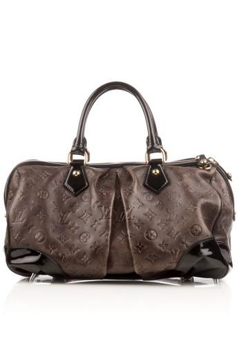 Louis Vuitton brown Preloved Brown Emb. Monogram Stephen Bag 23B6BAC589653BGS_1