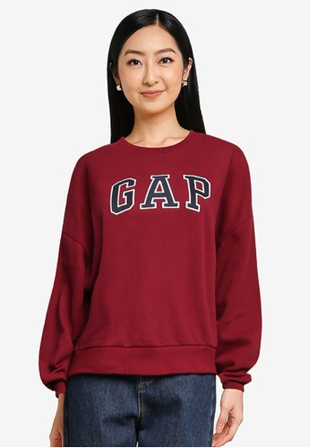 GAP red Brand Logo Sweatshirt 3AA06AA0E2DBF4GS_1