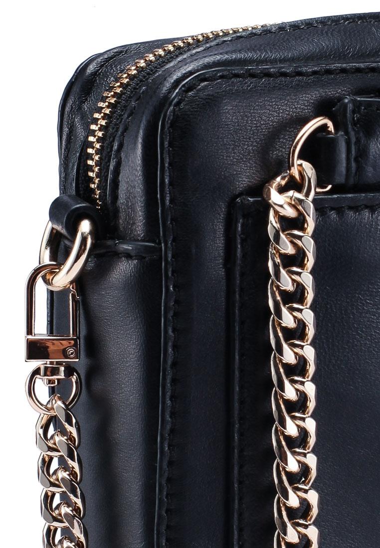34ad3590d Black Leather Black ESPRIT Bag Friday Sling qxwUI7 at insert ...