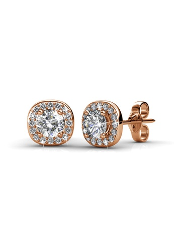 Her Jewellery gold Her Jewellery Cushy Earrings (Rose Gold) with 18K Gold Plated 6917AAC57C0A88GS_1