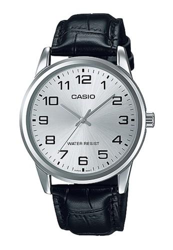 Casio black Casio Jam Tangan MTP-V001L-7BUDF Hitam B0FA6ACF8A1EB6GS_1