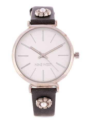 Nine West grey Analog Watch NW2203SVGY0000 58D1BACAB0800EGS_1