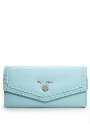 VERNYX green Lace Tangle Wallet F3645AC0D072A3GS_1