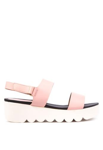 Primadonna pink Wedged Sandals PR107SH16OMPPH_1
