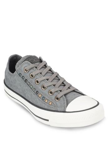 Chuzalora時尚購物網評價ck Taylor All Star 鉚釘飾帆布鞋, 女鞋, 鞋
