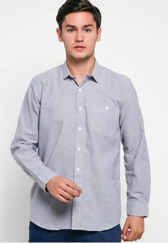 Breeze Industries grey chambray shirt ellard light grey 8C418AAA36F458GS_1