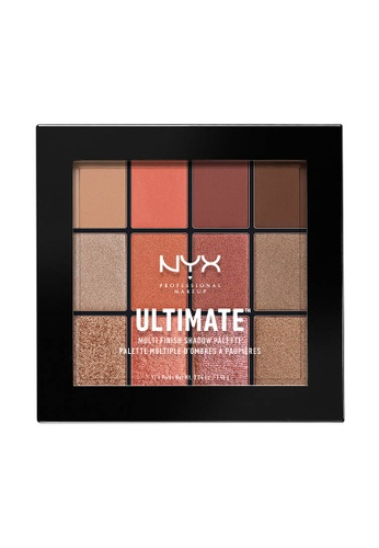 NYX Professional Makeup multi NYX Professional Makeup Ultimate Multi-Finish Shadow Palette - WARM RUST B62ACBE812DF82GS_1
