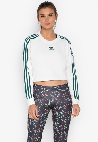 Shop Adidas Adidas Originals Cropped Sweater Online On Zalora