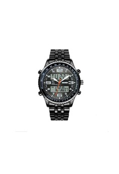 Multifunction Waterproof Analog and Digital Dual Mode Wrist Watch