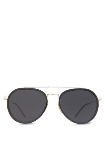 Mr Caleb 太陽眼鏡, 飾品配件, zalora退貨飛行員框