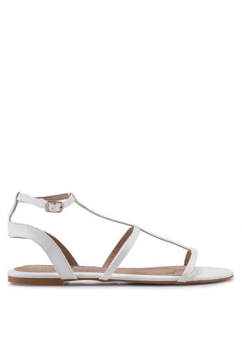 Billini white Dree Sandals 2BD8ASH4FD47C4GS_1