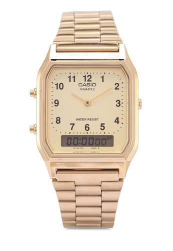 Casio gold Casio Watch AQ-230GA-9BMQ 8F090ACBCCB553GS_1