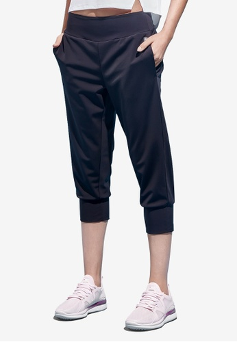 FILA black Training Knit Cropped Pant EBEAFAA57A91ECGS_1