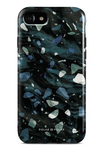 Polar Polar grey Nordic Terrazzo Gem Dual-Layer Tough Case Glossy For iPhone SE (2nd) / 8/7 6AA6BAC21AB220GS_1