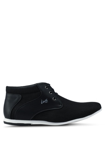 Louis Cuppers black High Cut Shoes E8C24SHD6B9DC4GS_1