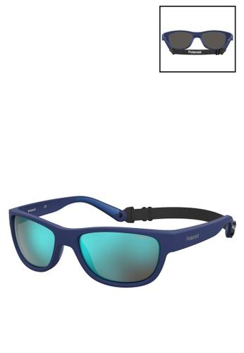 Polaroid blue 7030/S Sunglasses CEF0BGL1D43419GS_1