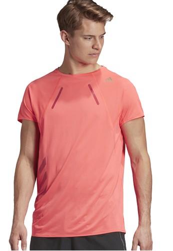 ADIDAS pink heat.rdy tee men 1EECDAAAB1075AGS_1
