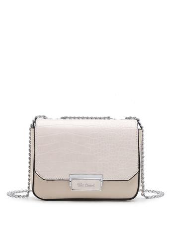 Wild Channel white Women's Sling Bag / Shoulder Bag / Crossbody Bag C0356AC474C39FGS_1