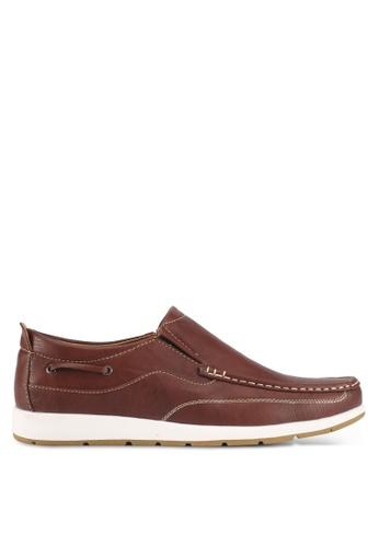 Rocklander brown Rocklander Loafer Shoes 01E2DSHBE2F8CDGS_1