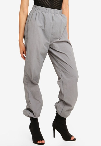 4f0290fc7a Shop MISSGUIDED 80s Nylon Jogger Pants Online on ZALORA Philippines