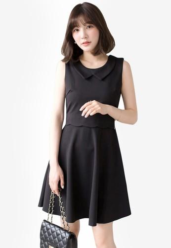 Tokichoi black Graceful Sleeveless Mini Dress 2C5B2AA8B55555GS_1