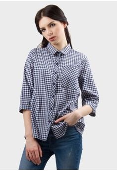 harga NANCY Crossback Shirt Zalora.co.id