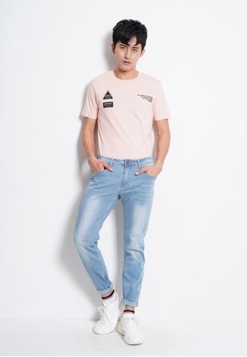 Hi Style blue Slim Fit Long Jeans ECFB1AA5E45D74GS_1