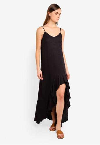 Billabong black Kick It Up Dress 7024CAAF435A8FGS_1