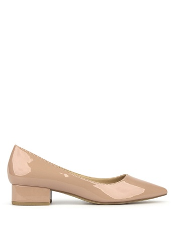 Betts pink Impulse Pointed Toe Block Heel Pumps A5D4BSHB593EE3GS_1