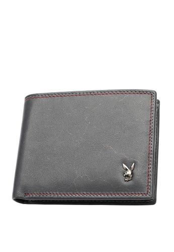 Playboy blue RFID Blocking Wallet 2F0F3ACC2ED261GS_1