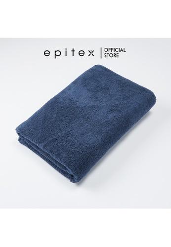 Epitex grey Epitex Anti Odor 100% Cotton Bath Towel - Gym Towel - Bathing Towel - Comfortable Towel (Blue Stone) 86199HLCA4A0A8GS_1
